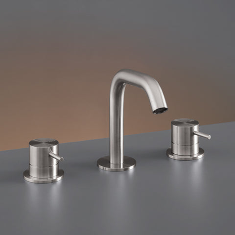 CEA Three-hole Bathroom Faucet Milo360 Deck Mounted