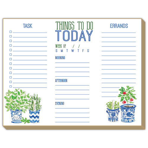 Things To Do Today Luxe Planner