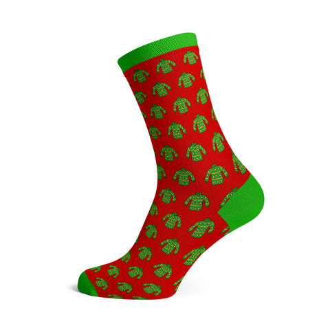 Image of a custom Christmas Sock