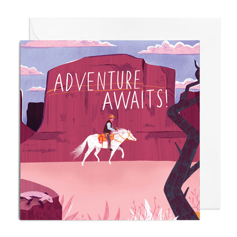 Adventure Awaits Greetings Card