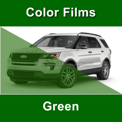 Green Color Window Tinting Film