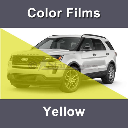 Yellow Color Window Tinting Film
