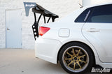 Battle Aero V4 Chassis Mount Wing for Subaru WRX / STI Sedan