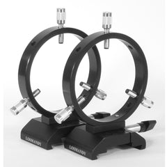 Losmandy 108mm I.D. Guide Scope Ring Set with 3 Point Adjustment for D/V Series Plates - DVR108