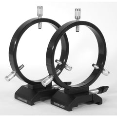 Losmandy 125mm I.D. Guide Scope Ring Set with 3 Point Adjustment for D/V Series Plates - DVR125