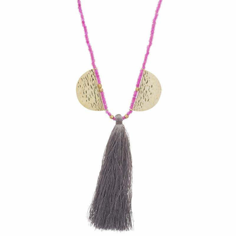 Small Aurora Tassel Necklace