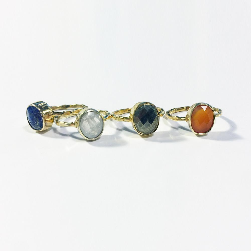 Oval Stack Ring