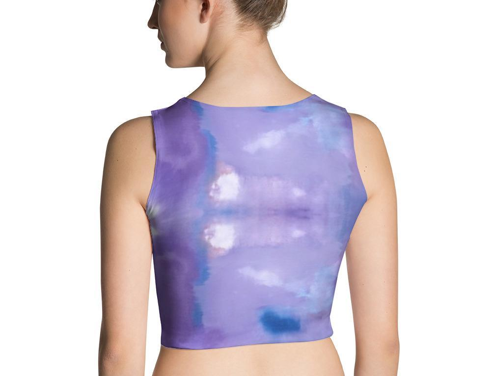 Purple Haze Crop Top