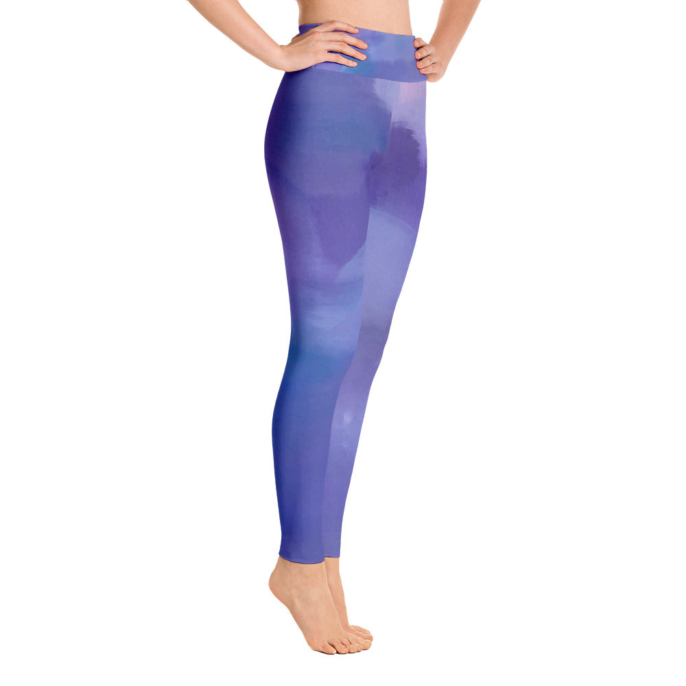 Purple Yoga Leggings