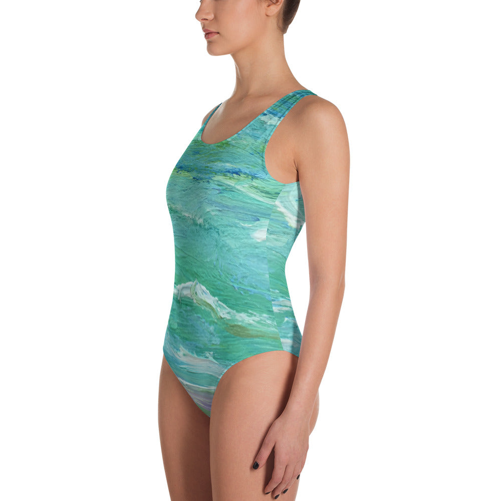 Seashore Leotard/Swimsuit