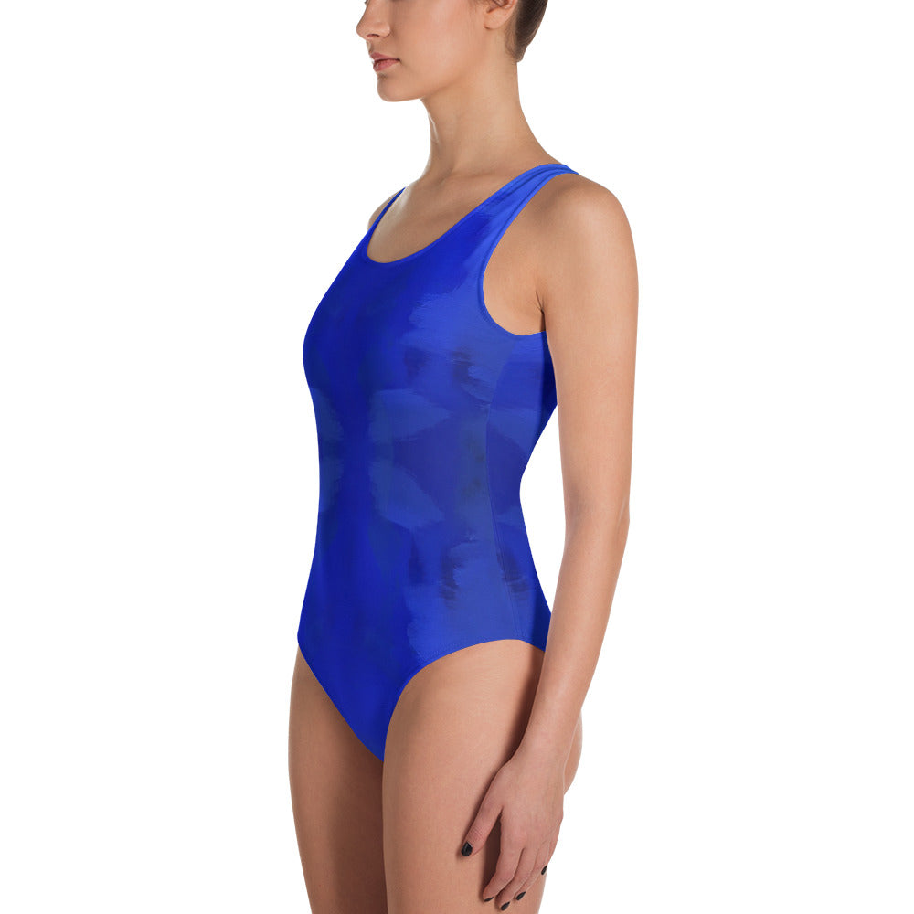 Blue Royale Leotard Swimsuit | Aqua Burns