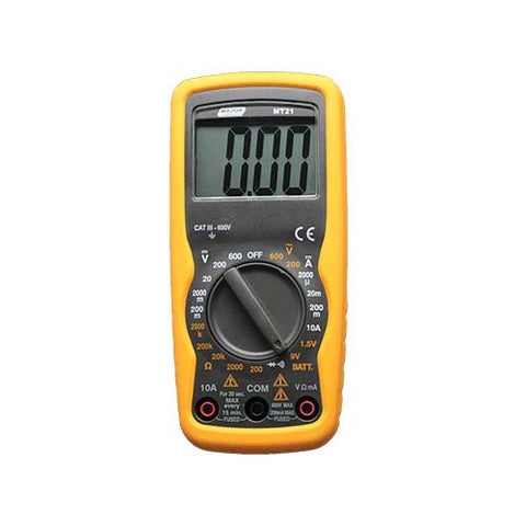 Compact Auto Digital Multimeter - Battery Tester