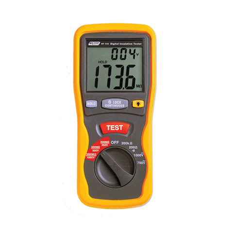 250/500/1000V Digital Insulation Tester
