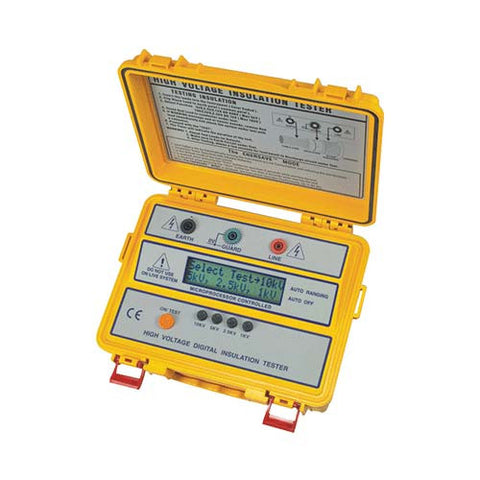 1kV/2.5kV/5kV/10kV High Voltage Digital Insulation Tester