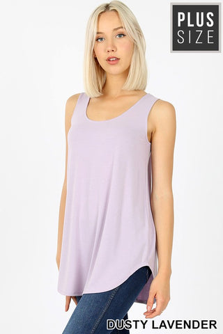 Dusty Lavender Relaxed Fit Tank