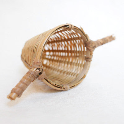 Bamboo Tea Basket - Double Handle