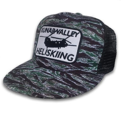 30 Seconds Out Kunar Valley Heliskiing Tiger Stripe Snapback Trucker