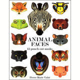 Book of 15 Animal Face Masks