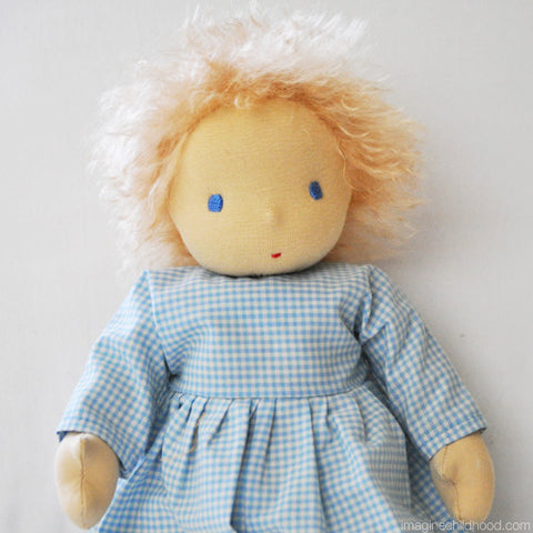 Root Children Doll Blue