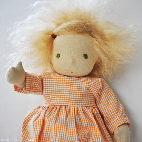 Root Children Doll Orange