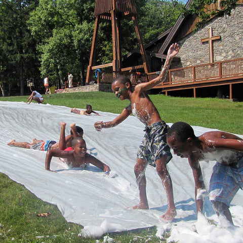 A summer camp experience for an at-risk child at Mont Lawn Camp