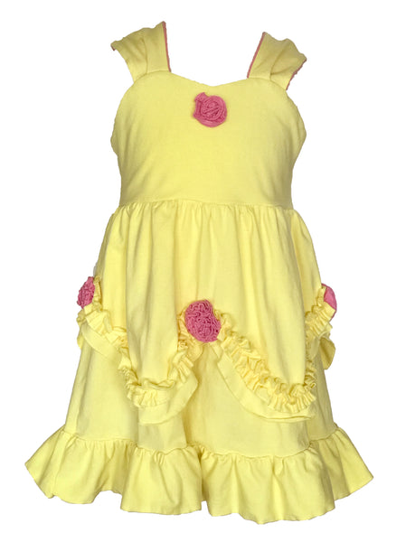Princess Belle Everyday Knit Girls Dress - Beauty and the Beast costume cosplay
