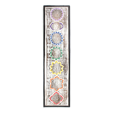 Wooden Chakra Plaque