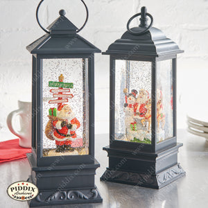 Christmas Santa Lantern -- Piddix Licensed Products Licensed Piddix Product