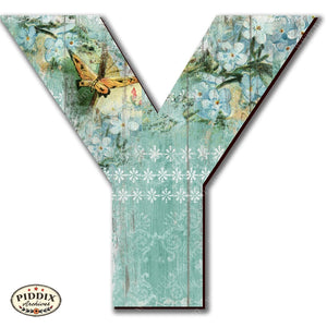 Pdxc19106 -- Wooden Letter Y Original Art