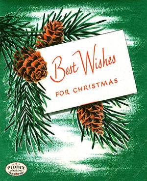 PDXC19482a -- Christmas Words Color Illustration