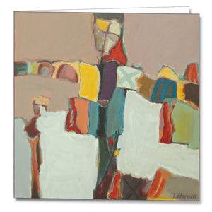 Crucifix Greeting Card