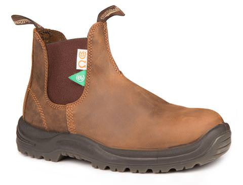 Blundstone 164 Safety PU/TPU-Elastic Sided-V Cut