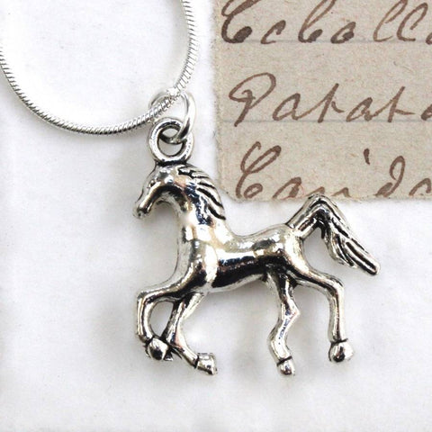 Dressage Horse Necklace (50)