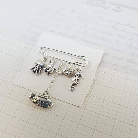 Save the Oceans Brooch (111)