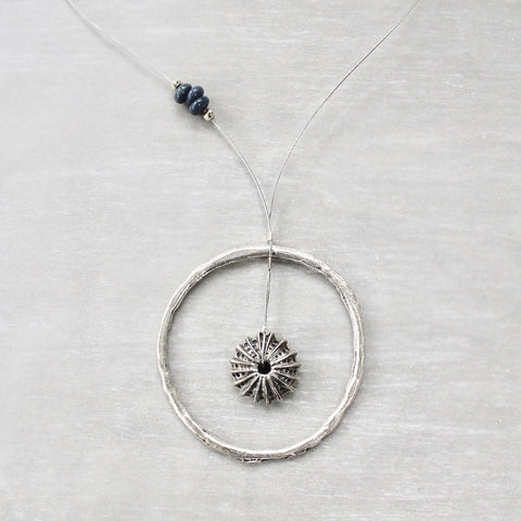 Sea Urchin In A Circle Necklace (86)