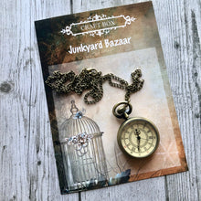 Load image into Gallery viewer, Junkyard Bazaar - Train Master Pocket Watch