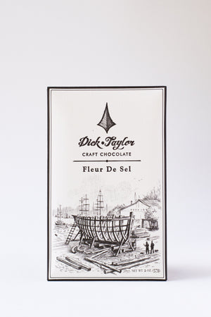 Dick Taylor Dark Chocolate with Fleur de Sel-Chocolate-The Meadow