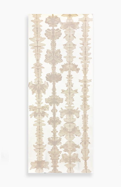 Taupe Ink Blot Quartet - 7ft Roll