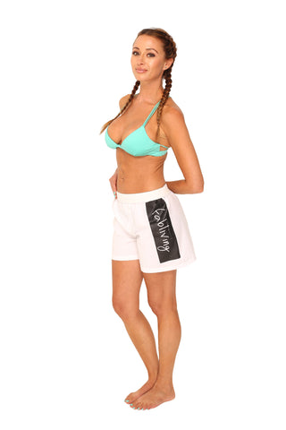 fabliving block boxer short (white/black)