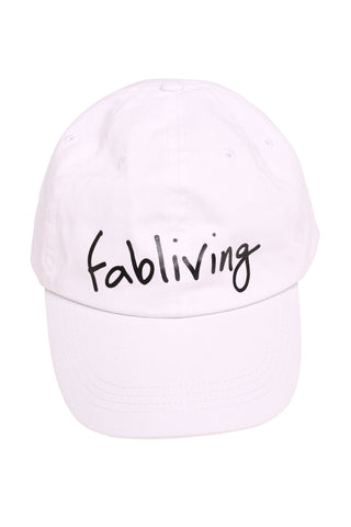 FP fabliving twill cap (white)