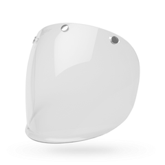 Bell Shield 3 Snap Retro - Clear