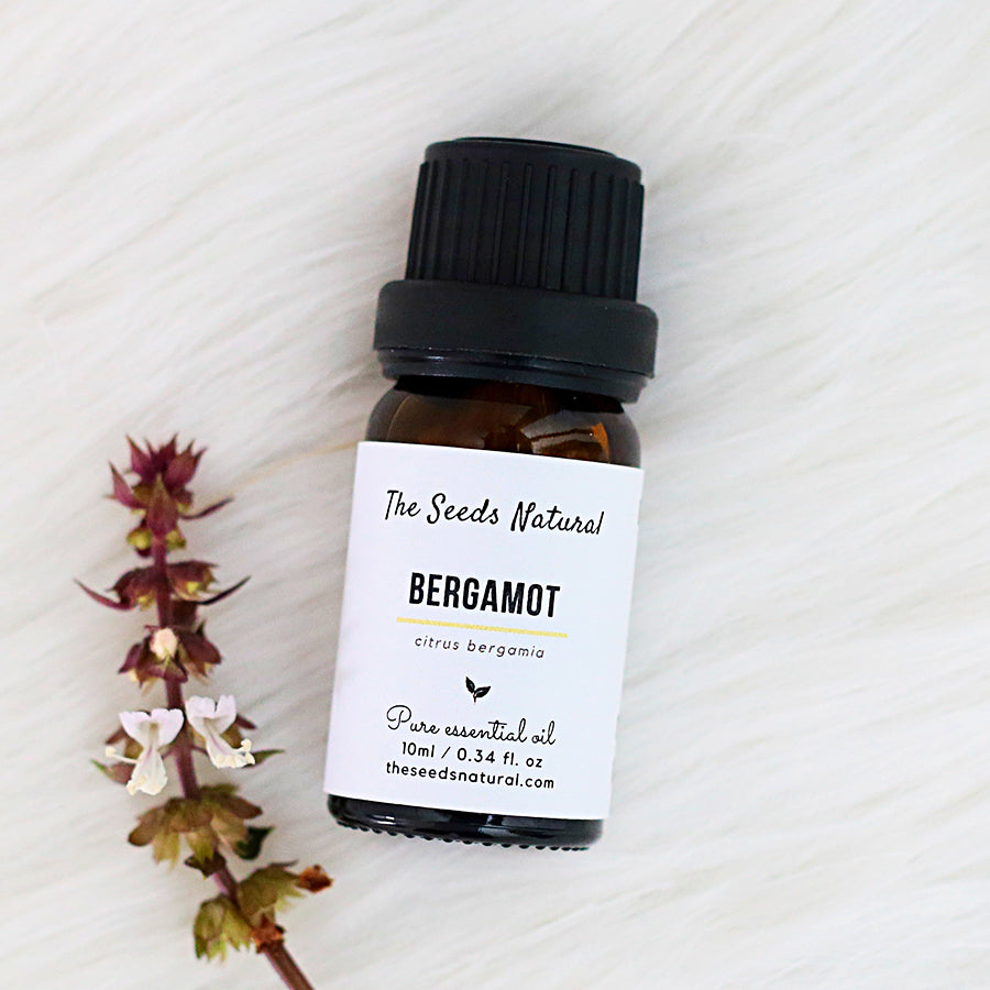 Bergamot pure essential oil, 佛手柑精油, oily skin, acne, reduce stress, destress, Improves concentration, antibacterial, essential oil malaysia, the seeds natural