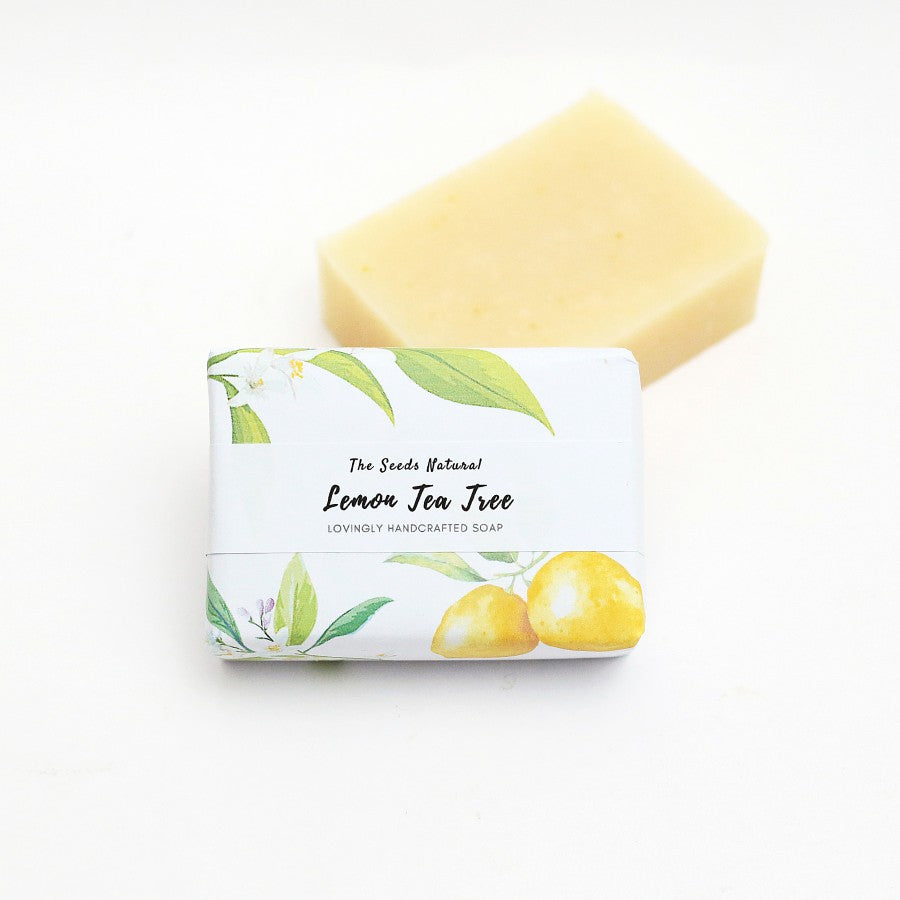 Lemon Tea Tree Handmade Soap