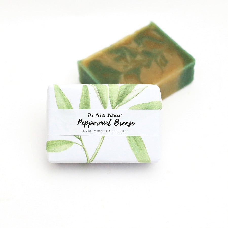 Peppermint Breeze Handmade Soap