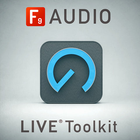 F9 Toolkit for Ableton Live 9+10 - F9 Audio Royalty Free loops & Wav Samples