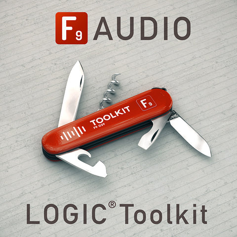 F9 Toolkit ( Logic Edition ) - F9 Audio Royalty Free loops & Wav Samples