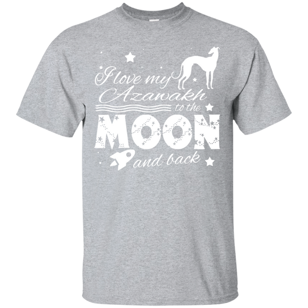 Love My Azawakh To The Moon And Back Tee