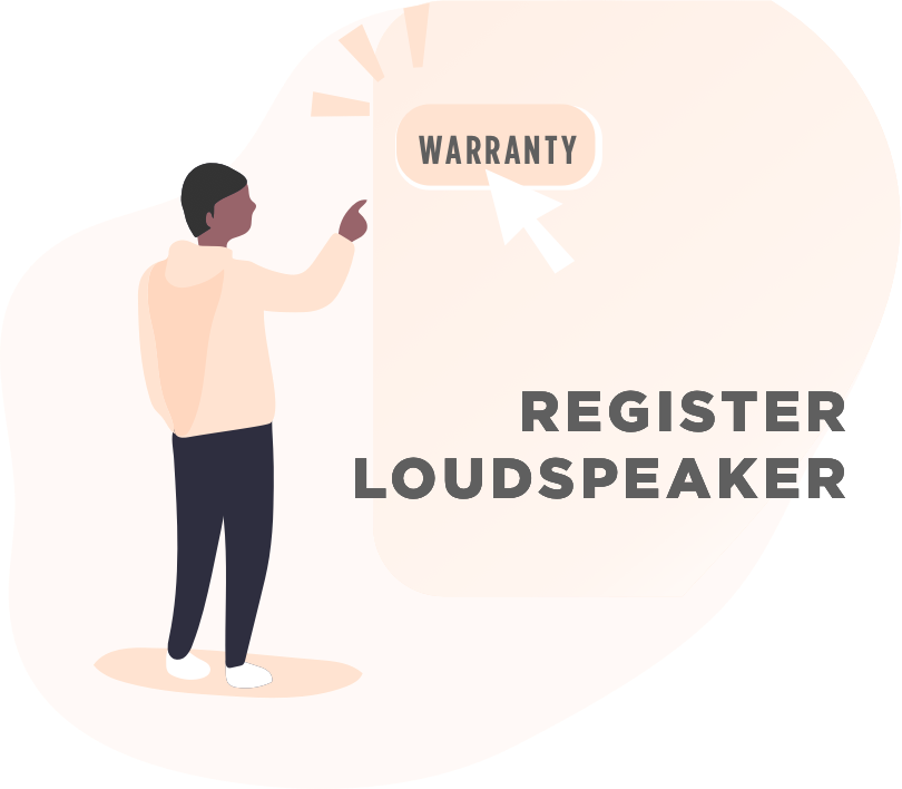 Register Loudspeaker