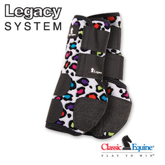Classic Equine Legacy Boots | Fronts - Patterns