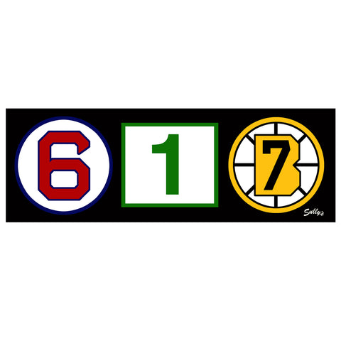 617 Retired Numbers Sticker
